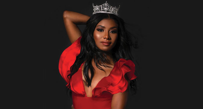 Nia Franklin, Miss America Credit: Instagram